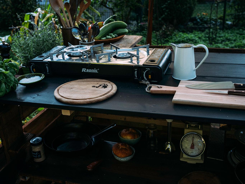 Außenküche Mit Paletten : Gartenküche aus paletten bauen wilde gartenküche